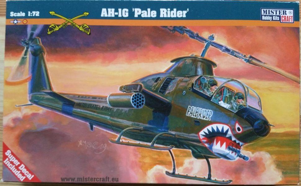 AH-1G COBRA PALE RIDER - Měřítko: 1/72 MISTER CRAFT