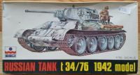 Russian Tank T 34/76 1942 model
