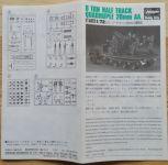 8 ton Half track Quadruple 20mm AA - Měřítko: 1/72 HASEGAWA