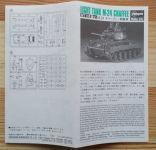 Light Tank M-24 Chaffee - Měřítko: 1/72 HASEGAWA