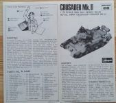 Cruiser Tank Crusaider III - Měřítko: 1/72 HASEGAWA