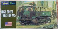 Hight Speed Tractor M5 - Měřítko: 1/72 HASEGAWA