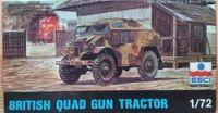 British Quard Gun Tractor - Měřítko: 1/72 ESCI