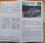 M4A1 Half track - Měřítko: 1/72 HASEGAWA
