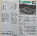 Infantry Tank Churchill Mk.I - Měřítko: 1/72 HASEGAWA