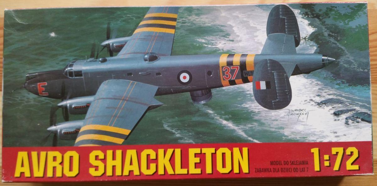 AVRO SHACKLETON - Měřítko: 1/72 CHEMATIC