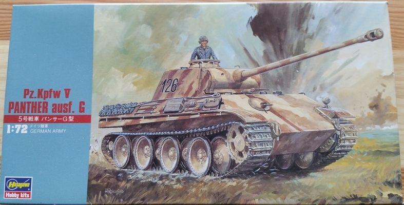 Pz.Kpfw.V Panther ausf. G. - Měřítko: 1/72 HASEGAWA