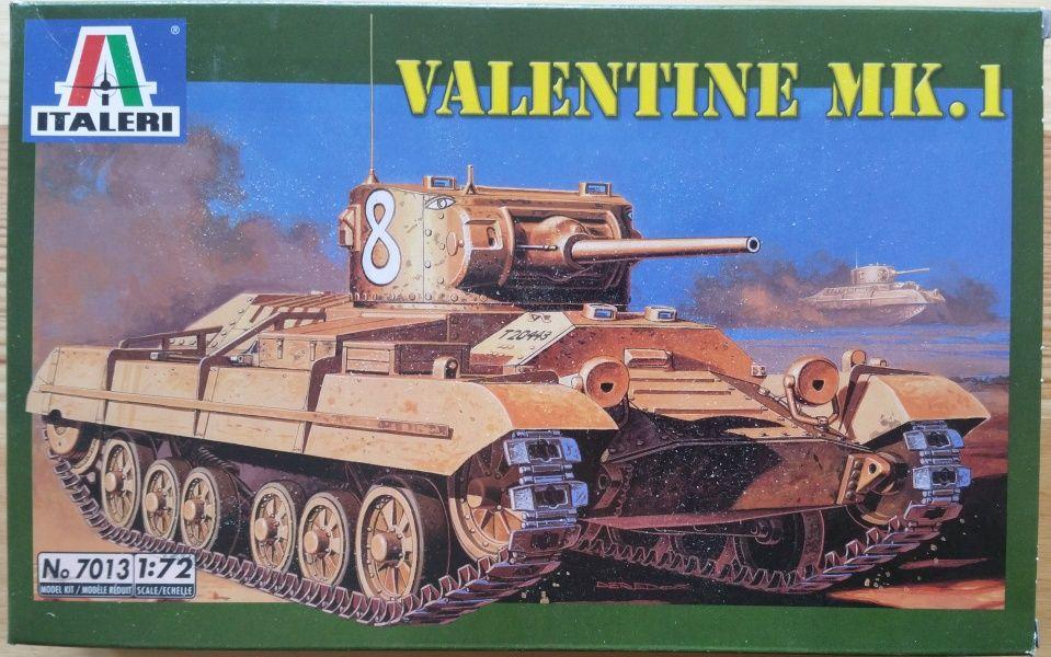 Valentine Mk.I - Měřítko: 1/72 ITALERI