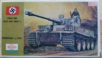 German Army Panzer kampf wagen VI - Tiger I - Měřítko: 1/72 XIEDA