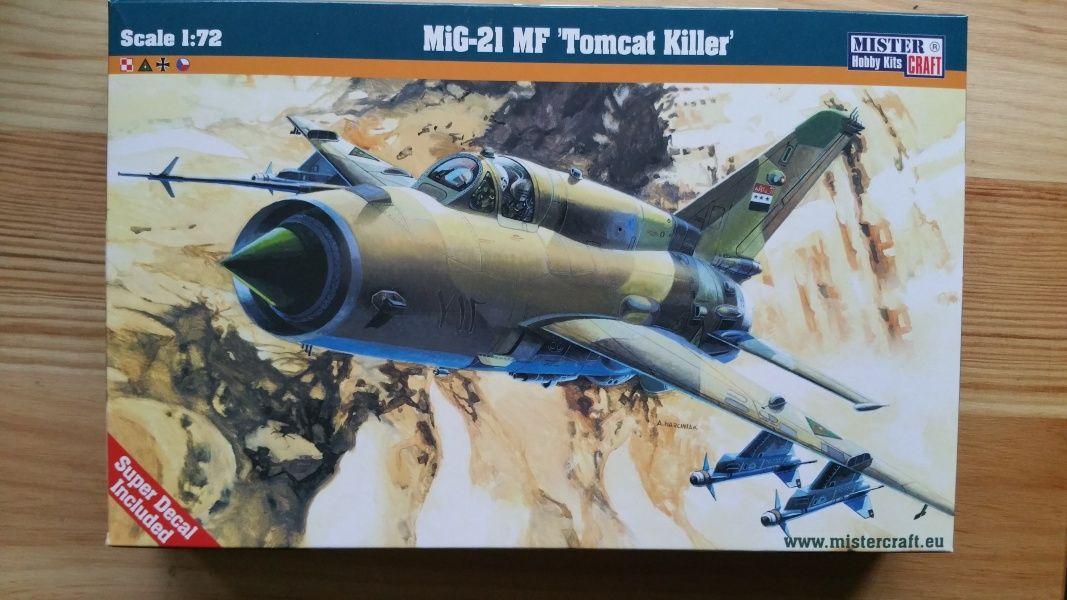 """Mig-21 MF """"Tomcat Killer"""" - Měřítko: 1/72 MISTER CRAFT"""