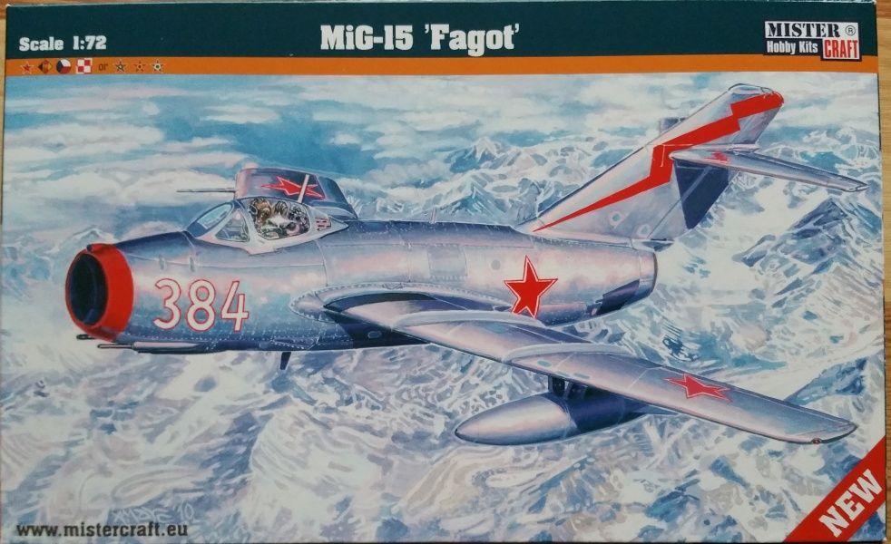 "Mig-15 ""Fagot"" - Měřítko: 1/72 MISTER CRAFT"