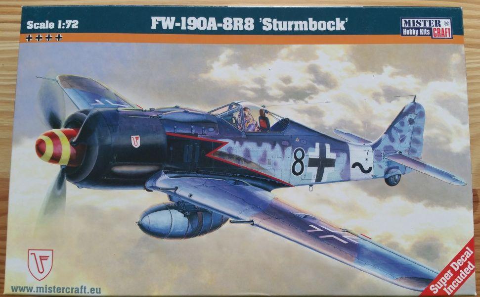 "FW-190A-8R8 ""Sturmbock"" - Měřítko: 1/72 MISTER CRAFT"