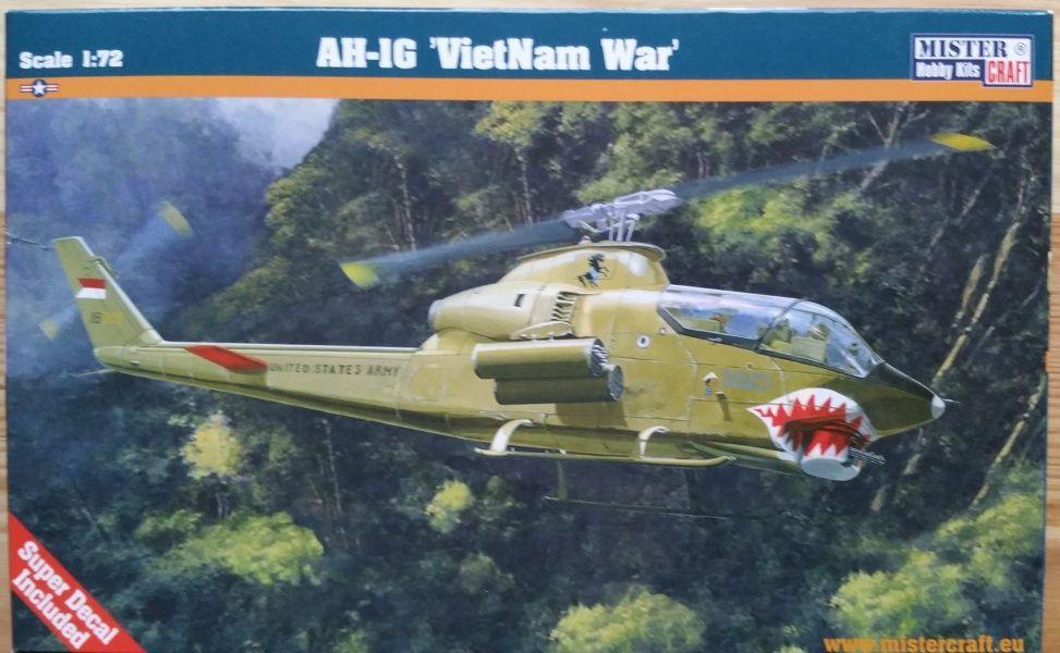 AH-1G VIETNAM WAR - Měřítko: 1/72 MISTER CRAFT