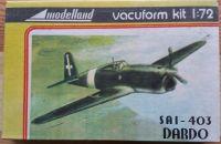 SAI - 403 DARDO - Měřítko: 1/72 MODELLAND