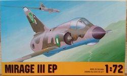 MIRAGE III EP - Měřítko: 1/72 CHEMATIC