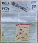 IL-2 M Šturmovik - Měřítko: 1/72 DAKO PLAST