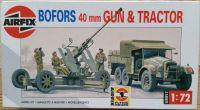 Bofors 40mm Gun + Tractor
