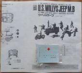 US Willys Jeep MB - Měřítko: 1/76 FUJIMI