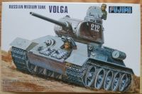 Russian Medium Tank T-34/85 Volga - Měřítko: 1/76 FUJIMI