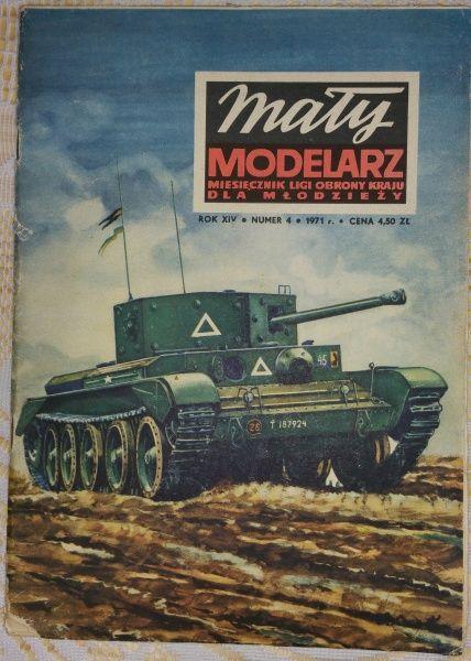 Model anglického tanku