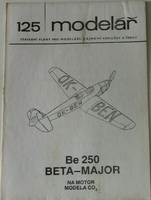 125 - Be 250 BETA-MAJOR