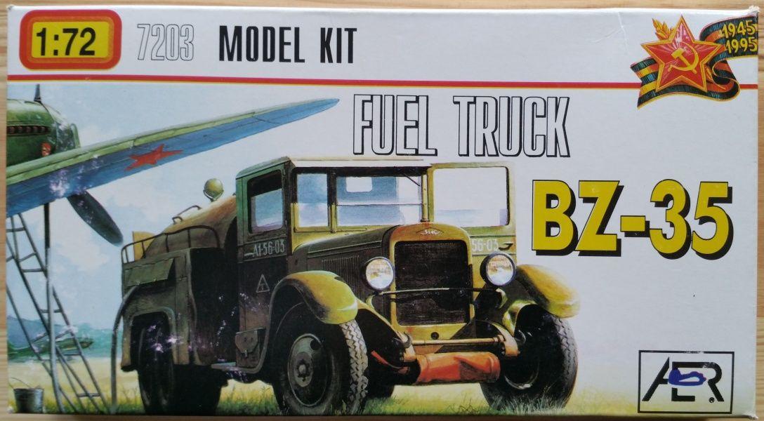 FUEL TRUCK BZ-35 - Měřítko: 1/72 AER