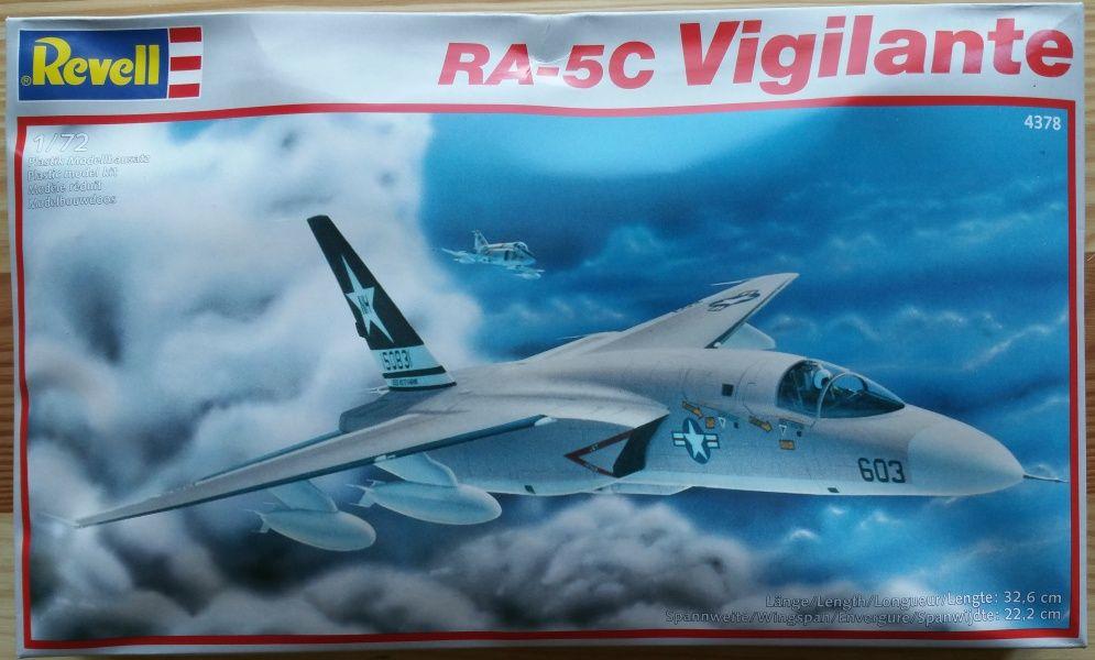 RA - 5C VIGILANTE - Měřítko: 1/72 REVELL