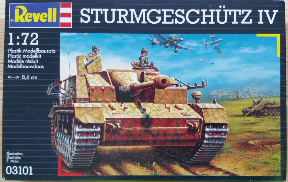 Sturmgeschütz IV - Měřítko: 1/72 REVELL