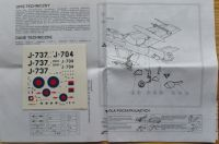 Hawker HUNTER F Mk6 - Měřítko: 1/72 ZTS Plastyk