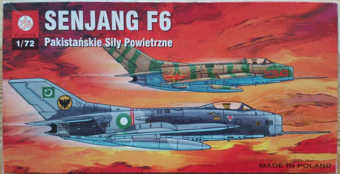 Mig-19 / SENJANG F6 - Měřítko: 1/72 ZTS Plastyk