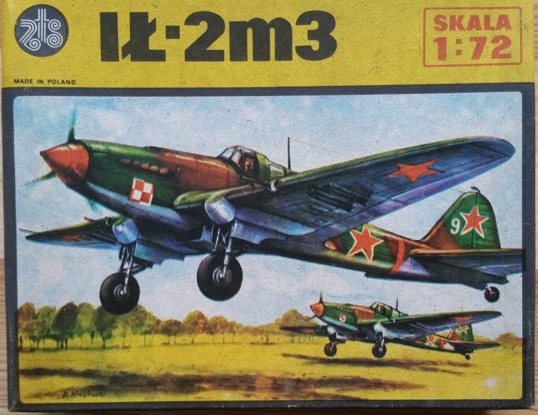 IL - 2 M3 - Měřítko: 1/72 ZTS Plastyk