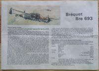 BREGUET Bre 693 - Měřítko: 1/72 SMĚR