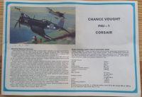 F4U-1 CORSAIR - Měřítko: 1/72 SMĚR