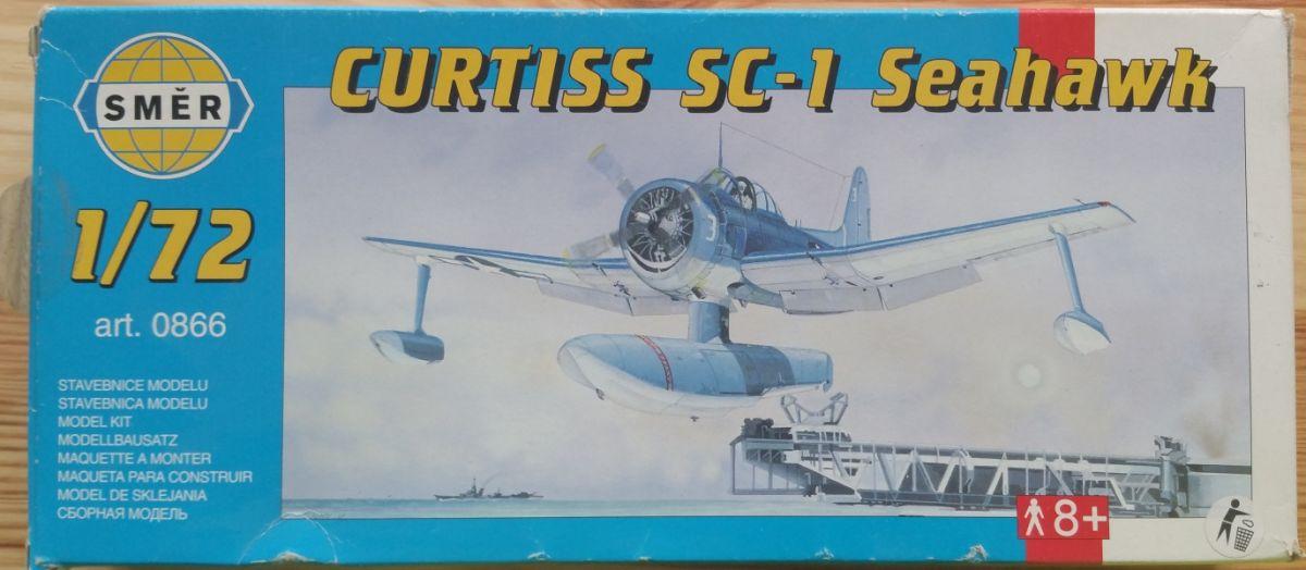 CURTISS SC - 1 SEAHAWK - Měřítko: 1/72 SMĚR