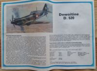 DEWOITINE D.500 / D.501 - Měřítko: 1/72 SMĚR