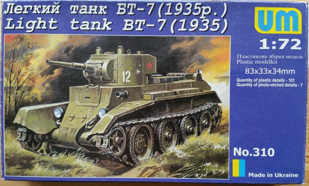 Light tank BT-7 (1935) - Měřítko: 1/72 UM