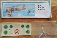 FIAT CR 42 FALCO - Měřítko: 1/40 SMĚR