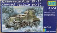 Armored Vehicle BA-10 / UM - Měřítko: 1/72