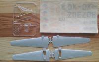 AERO C - 3A - Měřítko: 1/72 KOVOZÁVODY PROSTĚJOV