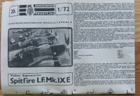 VICKERS SUPERMARINE SPITFIRE Mk.LF IX E - Měřítko: 1/72 KOVOZÁVODY PROSTĚJOV