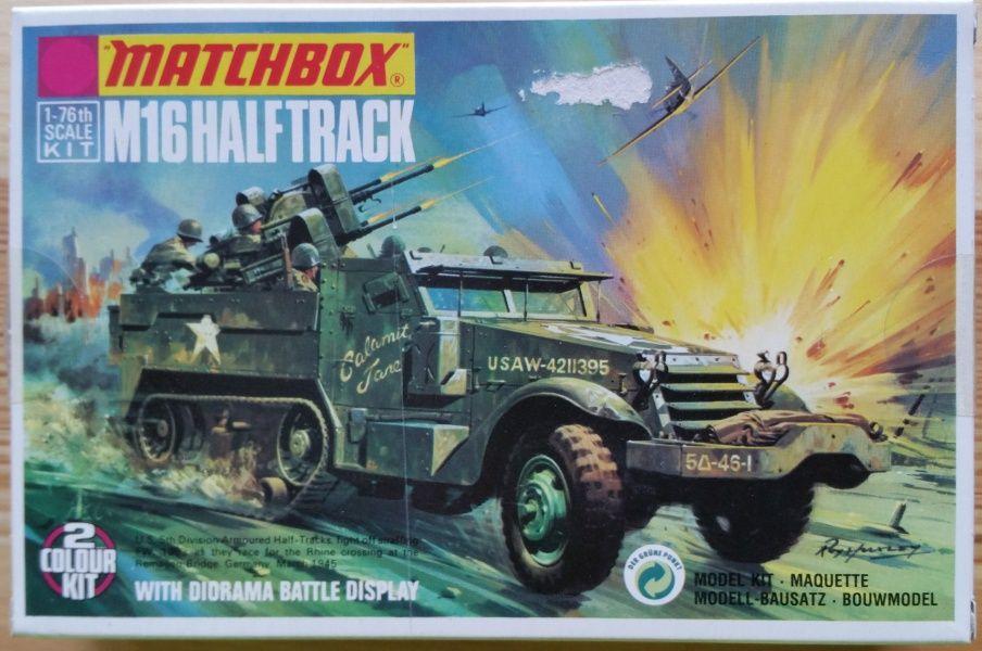 M16 Halftrack - Měřítko: 1/76 MATCHBOX