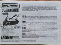 Jagdpanther - Měřítko: 1/76 MATCHBOX