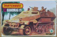 Hanomag sdkfz 251/1 - Měřítko: 1/76 MATCHBOX