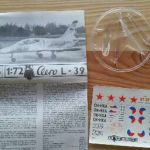 AERO L-39 ALBATROS - Měřítko: 1/72 KOVOZÁVODY PROSTĚJOV