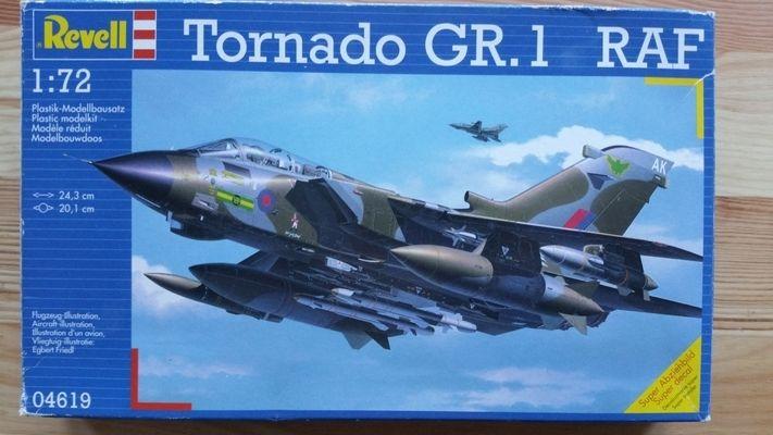 TORNADO GR. 1 RAF - Měřítko: 1/72 REVELL
