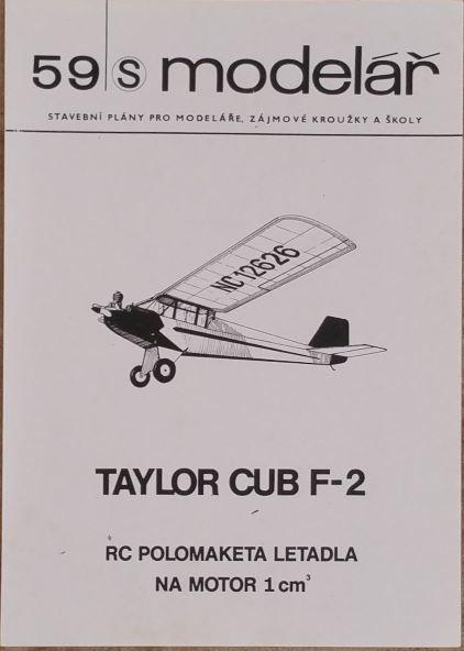 59s - TAYLOR CUB F-2