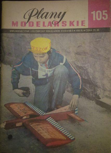 105 - MODELY VĚTROŇŮ A MOTOROVÝCH LETADEL