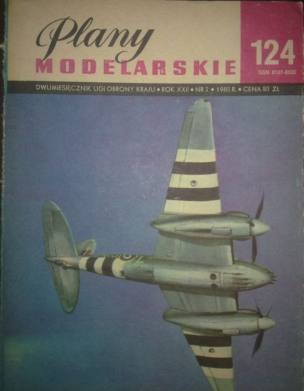 "124 - DE HAVILLAND 98 ""Mosquito FB Mk VI"""