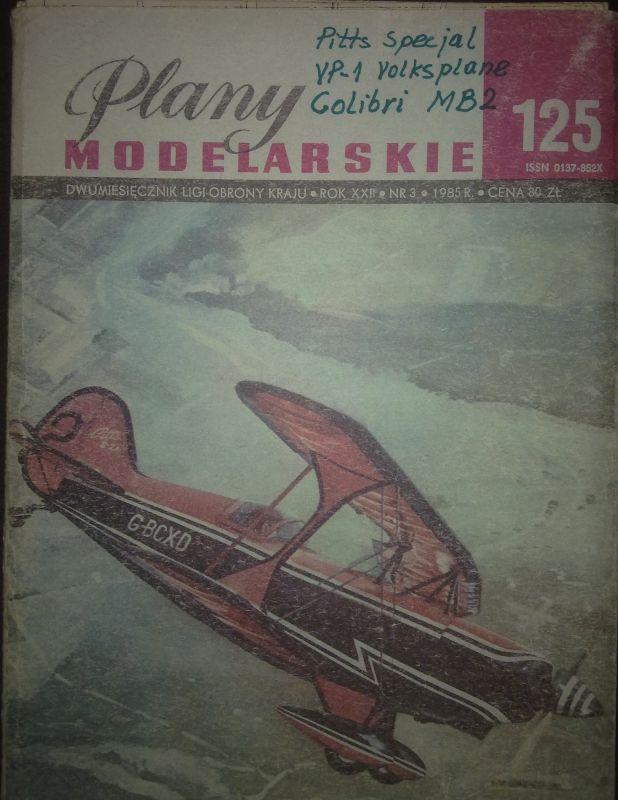 125 - 3 modely letadel