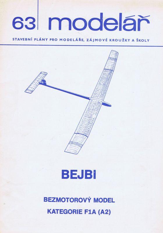Bezmotorový model kategorie F1A (A2)